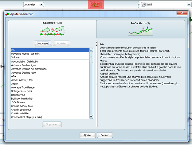 logiciel analyse technique bourse gratuit